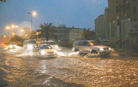 kuwait-flood