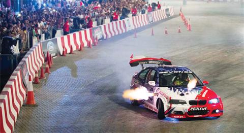 Daham Claims King Of Drift Title At Red Bull Car Park Drift