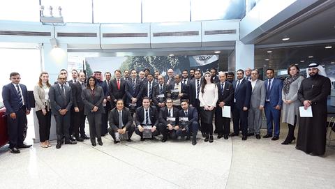 17 sales consultants at mercedes benz kuwait complete