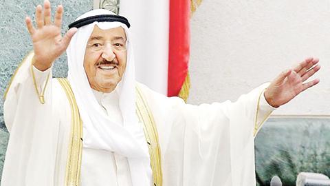 His Highness  the Amir Sheikh Sabah Al-Ahmad Al-Jaber Al-Sabah.
