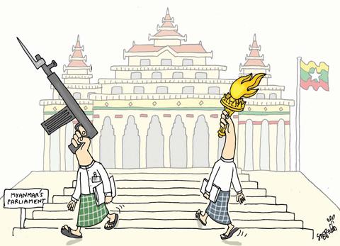 Myanmar's-Parliament