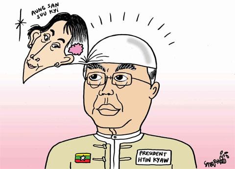 President-Htin-Kyaw