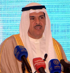 Information Minister Sheikh Salman Al-Humoud Al-Sabah