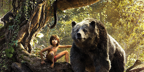 A screenshot from the Walt Disney movie 'The Jungle Book'