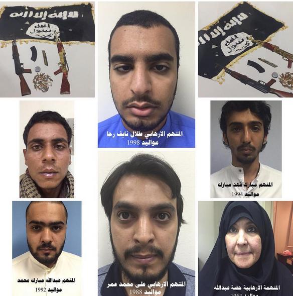 terrorist plots targeting Kuwait foiled, plotters arrested