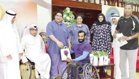 Behbehani congratulates Kuwait's disabled athletes