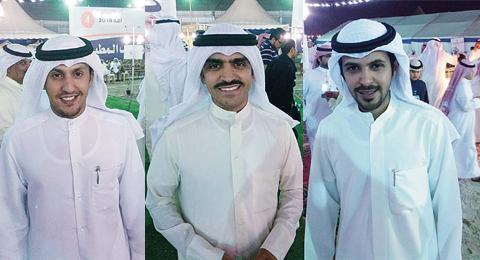 Meshari Al-Nayef, Saad Al-Mutairi and Meshaal Bader