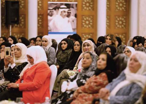 KUWAIT: Women voters gather to hear candidate and ex MP Dr Abdullah Al-Treiji — Photo by Yasser Al Zayyat