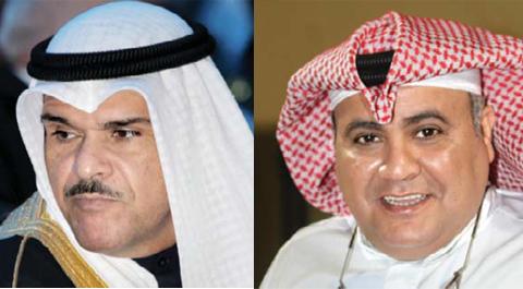 Sheikh Salman Al-Sabah and Shafi Al-Hajiri