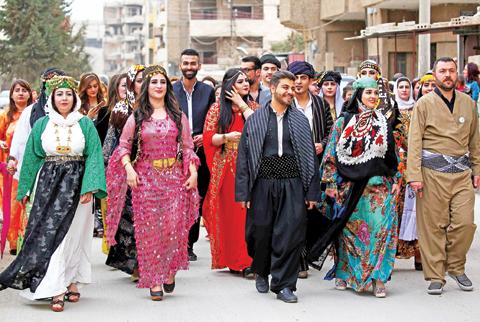 Syria S Kurd Catwalk To Promote Traditional Attire