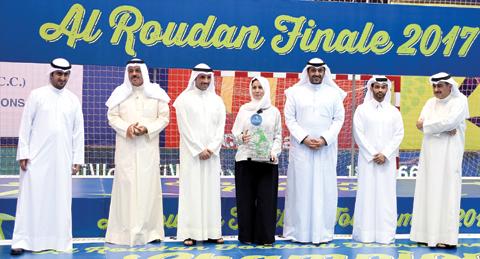 Zain concludes diamond sponsorship of Al-Roudhan football tournament