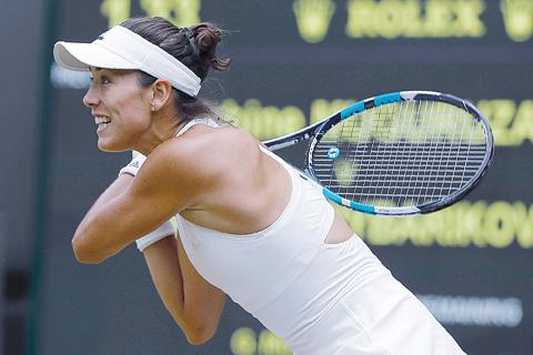 Wimbledon 2017: Garbine Muguruza races past Svetlana Kuznetsova into semis