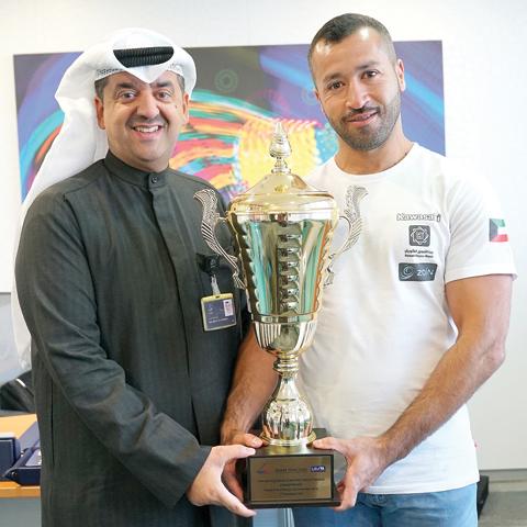 Zain congratulates Jet Ski Champion Yousef Al-Abdulrazzaq - Kuwait Times