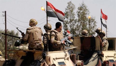 Egypt army kills 16 jihadists in Sinai