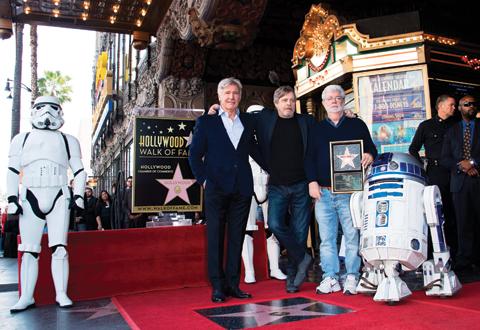 Film maker george lucas breaks ground on la narrative for Star wars museum california