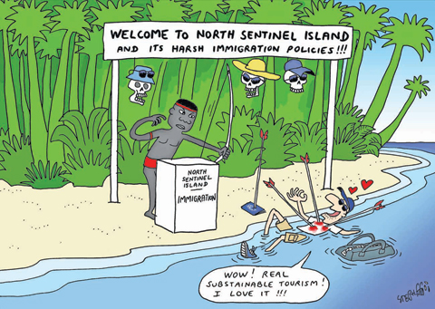 Image result for john chau cartoon