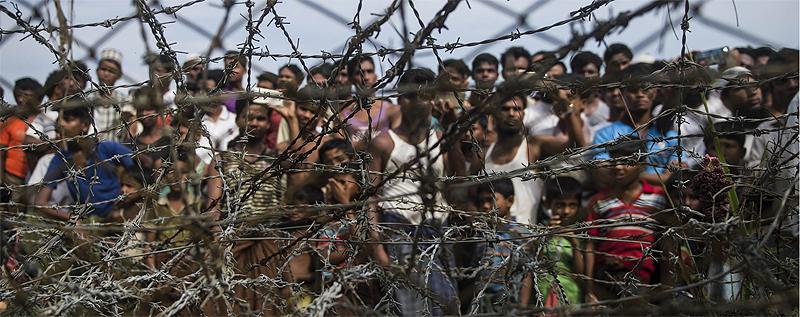 31 Rohingya in limbo on Bangladesh-India border - Kuwait Times