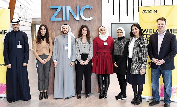 Six talented Kuwaiti graduates enter fourth edition of Zain