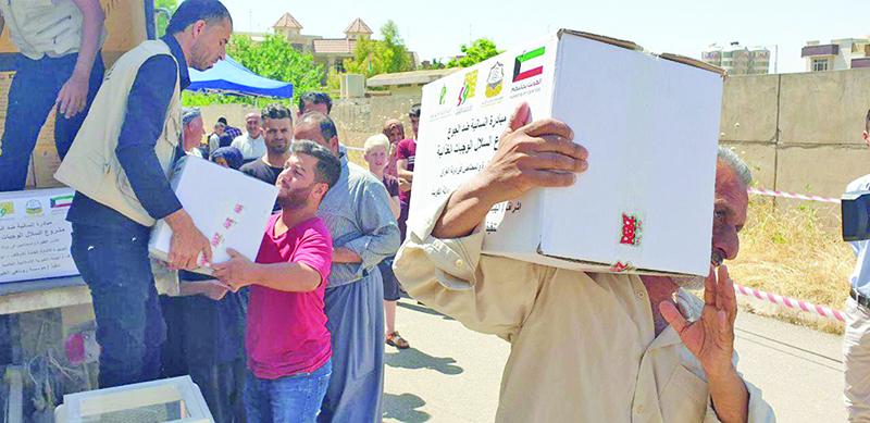 Kuwaiti institutions continue humanitarian aid during Eid Al
