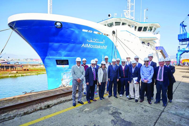 Marine life research vessels arrive in Kuwait